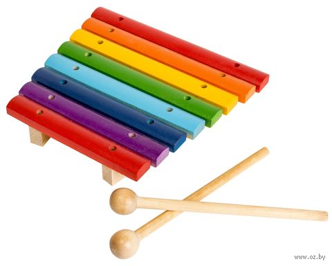 Ксилофон (8 тонов; арт. Д-487) — фото, картинка
