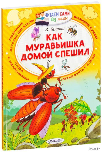 Как муравьишка домой спешил — фото, картинка