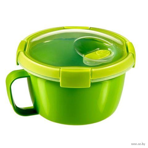 """Контейнер для еды """"To Go. Noodles"""" (0,9 л; зеленый) — фото, картинка"""