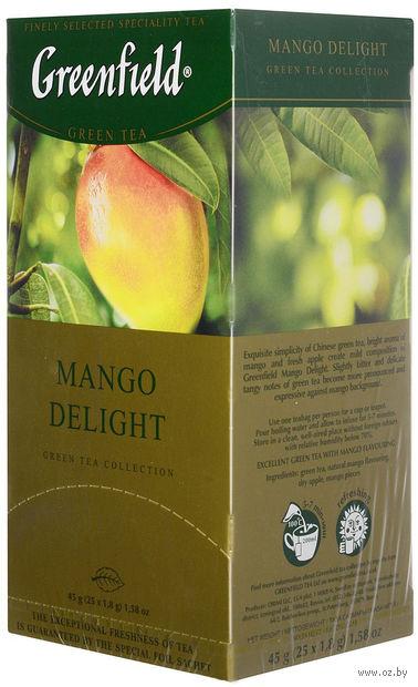 """Чай зеленый """"Greenfield. Mango Delight"""" (25 пакетиков) — фото, картинка"""