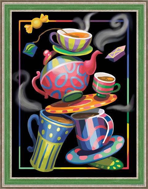 "Алмазная вышивка-мозаика ""Чайная фантазия"" (300х400 мм) — фото, картинка"