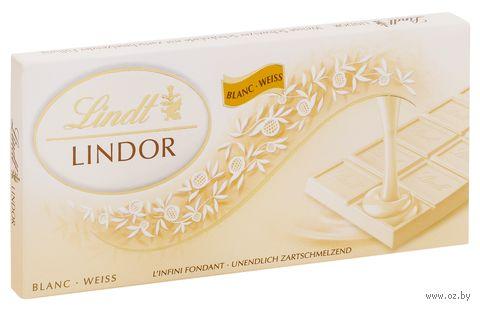 "Шоколад белый ""Lindor"" (100 г) — фото, картинка"