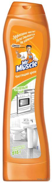 """Крем чистящий универсальный Mr. Muscle """"Зеленый чай"""" (515 г)"""