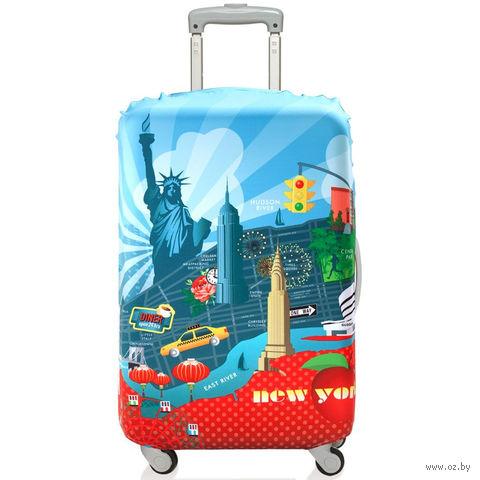 "Чехол для чемодана ""New York"" (большой)"