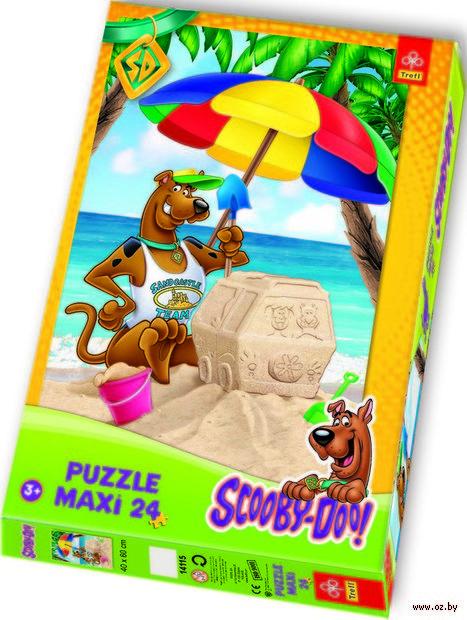 """Пазл """"Скуби Ду на пляже"""" (24 элемента) — фото, картинка"""