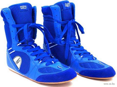 Обувь для бокса PS005 (р. 36; синяя) — фото, картинка