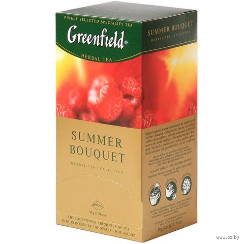 """Чай красный """"Greenfield. Summer Bouquet"""" (25 пакетиков) — фото, картинка"""