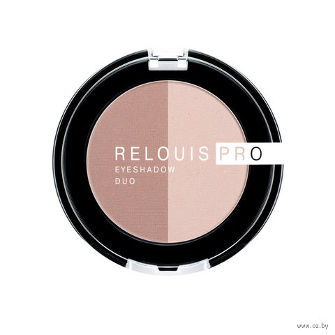 "Тени для век ""Relouis Pro Eyeshadow Duo"" (тон: 101) — фото, картинка"