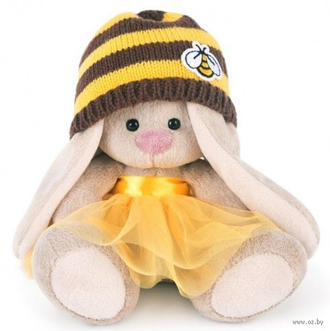 "Мягкая игрушка ""Зайка Ми в шапке-пчёлка "" (15 см) — фото, картинка"