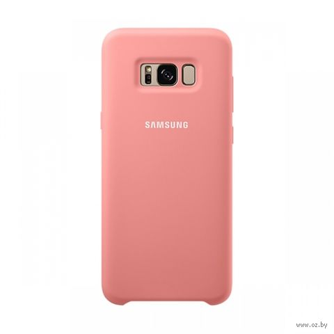 Чехол для телефона Samsung Galaxy S8+ Silicone Cover (розовый) — фото, картинка