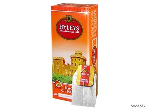 """Чай черный """"Hyleys. Маракуйя"""" (25 пакетиков) — фото, картинка"""