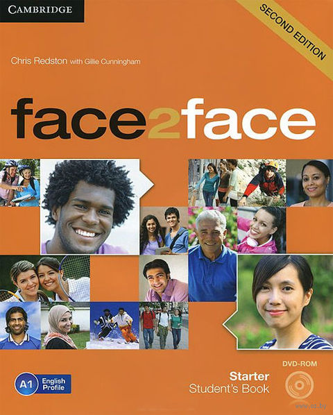 Face2Face. Starter. Student`s Book (+ DVD). Джилли Каннингем, Крис Редстон