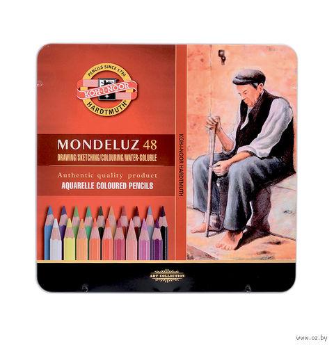 """Акварельные карандаши """"Mondeluz"""" (48 цветов)"""