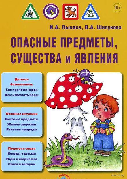Опасные предметы, существа и явления. Ирина Лыкова, Вера Шипунова
