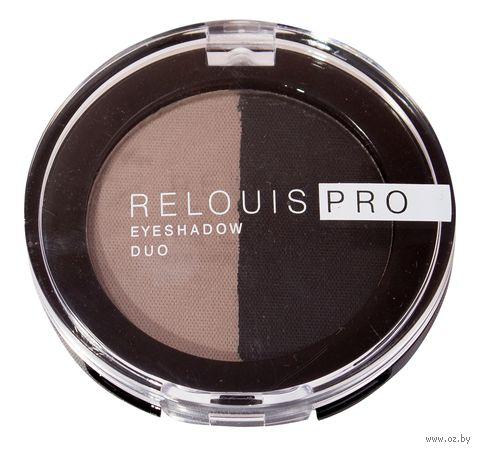 "Тени для век ""Relouis Pro Eyeshadow Duo"" (тон: 106) — фото, картинка"