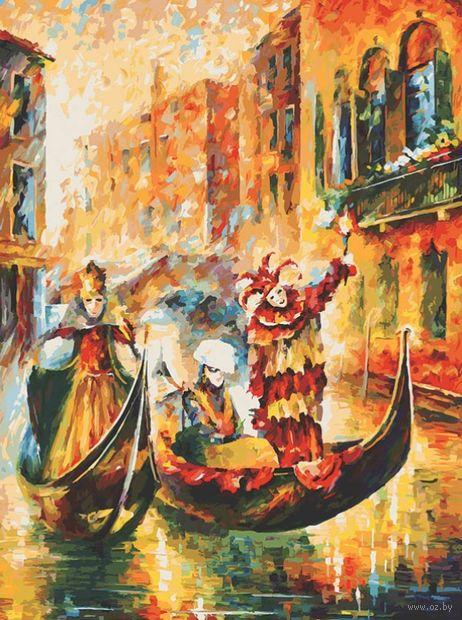 "Картина по номерам ""Венецианская гондола"" (600х800 мм) — фото, картинка"