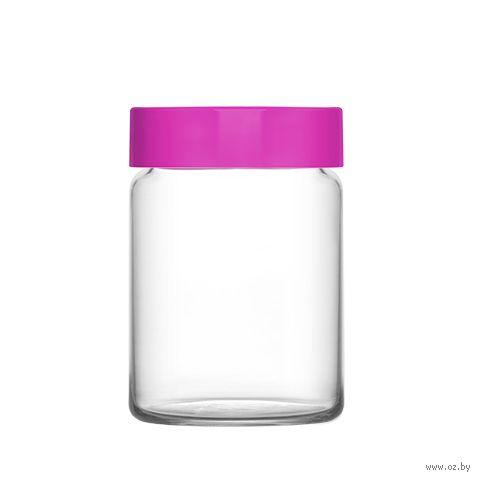 """Банка для сыпучих продуктов стеклянная """"Novo"""" (890 мл) — фото, картинка"""