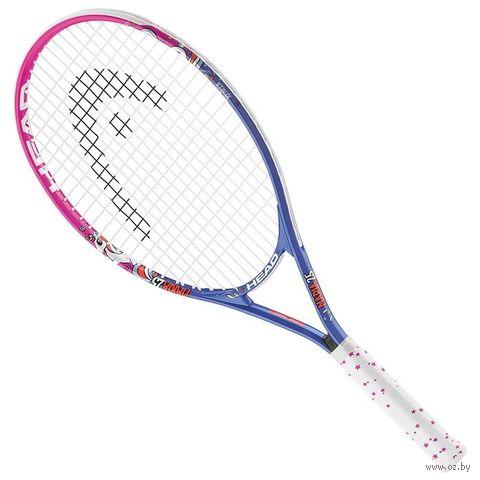 """Ракетка для большого тенниса """"Maria 23 Gr06"""" (синий/розовый/белый) — фото, картинка"""