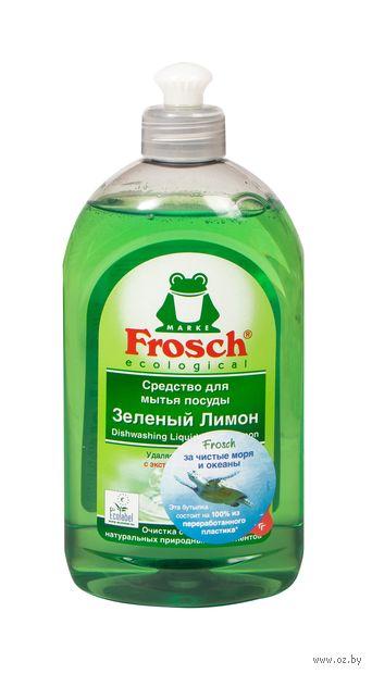 """Средство для мытья посуды """"Зеленый лимон"""" (500 мл) — фото, картинка"""