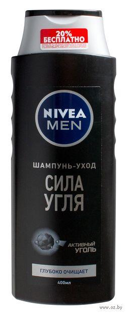 """Шампунь для волос """"Сила угля"""" (400 мл) — фото, картинка"""