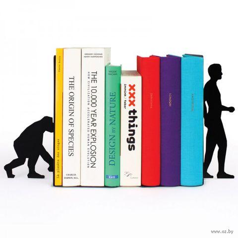 """Ограничитель для книг """"Evolution"""" (черный)"""