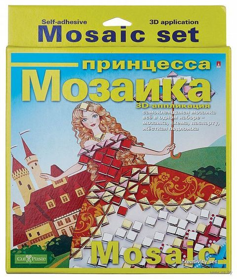 "Мозаика ""Принцесса"" — фото, картинка"