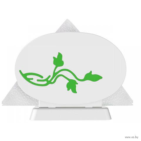 """Салфетница """"Viola"""" (зеленый полупрозрачный) — фото, картинка"""