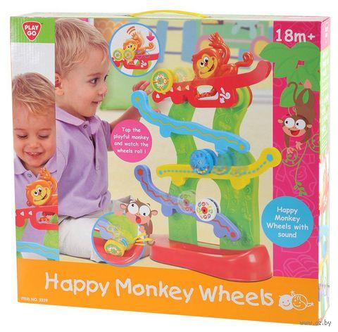 """Горка """"Веселые обезьянки"""" (со звуковыми эффектами) — фото, картинка"""