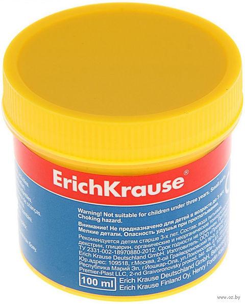 "Гуашь ""Erich Krause"" (желтая; 100 мл) — фото, картинка"