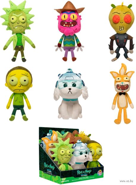 """Фигурка """"Galactic Plushies: Rick and Morty"""" (1 шт.) — фото, картинка"""