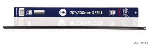 """Резинки для щёток стеклоочистителя """"Single Edge"""" (2 шт.; 24/60 см; арт. 735) — фото, картинка"""