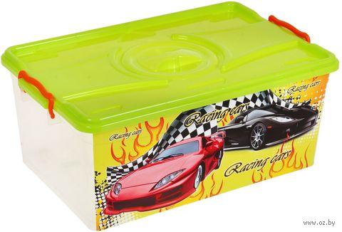 """Ящик для хранения игрушек """"Формула-2"""" (арт. М3186) — фото, картинка"""