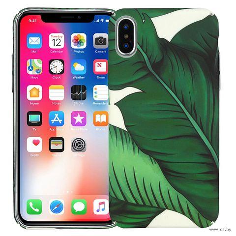 "Чехол для iPhone X/XS ""Greenery"" — фото, картинка"