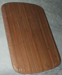 Доска разделочная бамбуковая (355х255х15 мм)