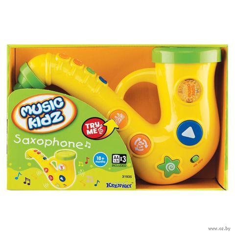 """Музыкальная игрушка """"Саксофон"""" (со световыми эффектами)"""
