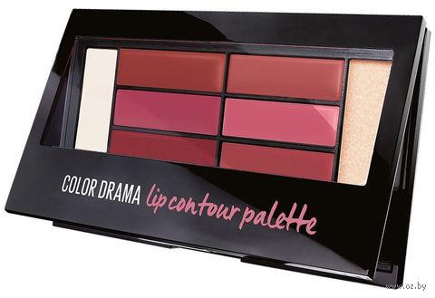 "Палетка для губ ""Color Drama"" (тон: contour blushed) — фото, картинка"