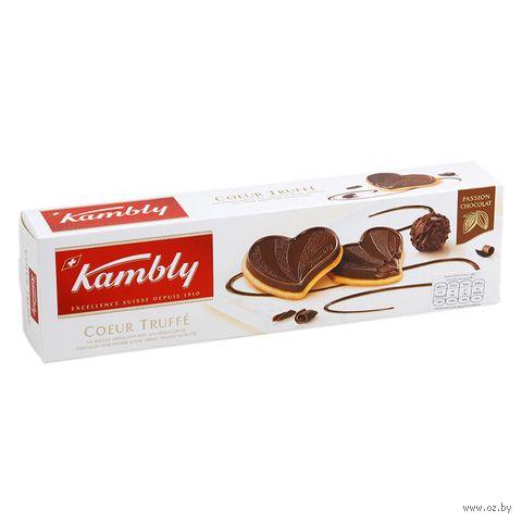 """Печенье """"Kambly. Coeur truffe"""" (100 г) — фото, картинка"""