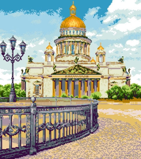 """Алмазная вышивка-мозаика """"Исаакиевский собор"""""""