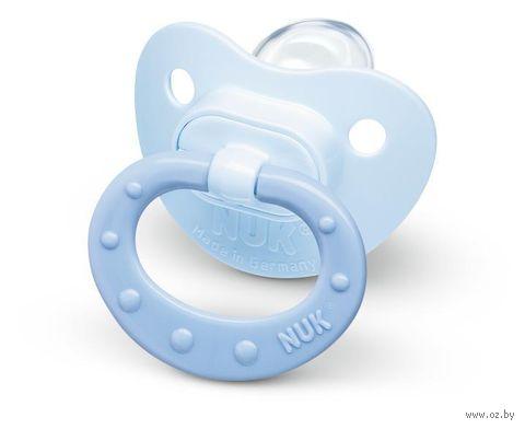 """Пустышка силиконовая ортодонтическая """"Baby Blue"""" — фото, картинка"""