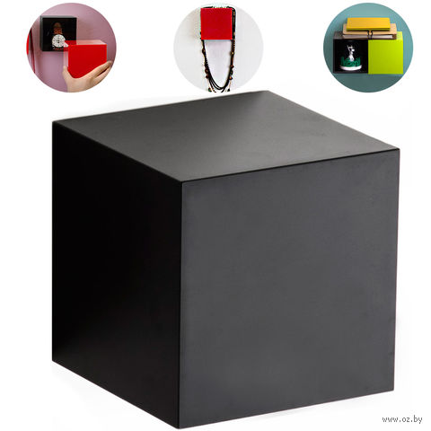 """Полка-вешалка """"Pixel"""" (черная)"""