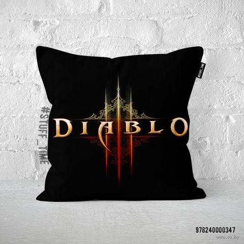 """Подушка """"Diablo"""" (347)"""