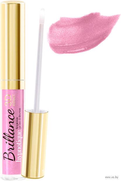"""Блеск для губ """"Brillance hypnotique 3D"""" (тон: 34, сиренево-розовый) — фото, картинка"""