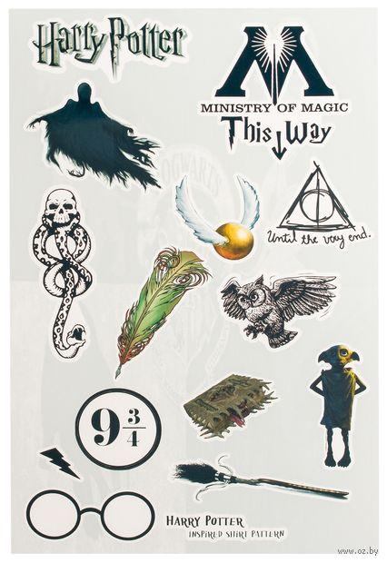 "Набор глянцевых наклеек ""Гарри Поттер №40.1"" — фото, картинка"