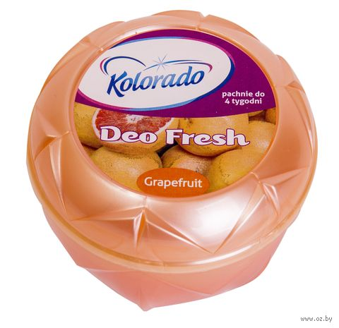 """Освежитель воздуха гелевый """"Kolorado Deo Fresh. Грейпфрутовый"""" (150 г) — фото, картинка"""