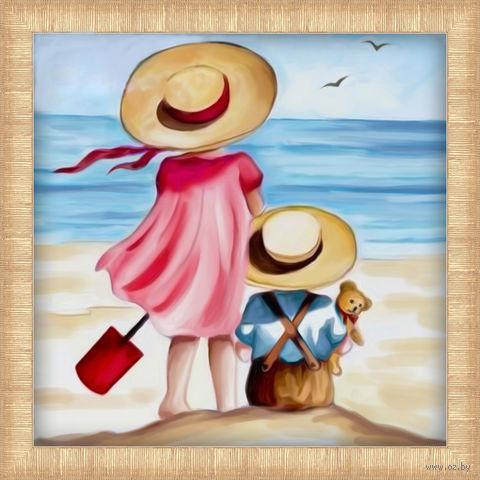 """Алмазная вышивка-мозаика """"Каникулы на пляже"""" — фото, картинка"""