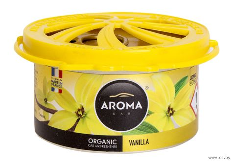 "Ароматизатор ""Organic"" (vanilla) — фото, картинка"
