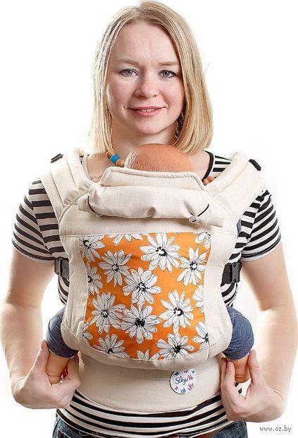 """Эргономичный рюкзак """"Полянка"""" — фото, картинка"""