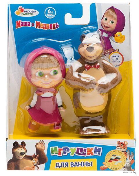 """Набор игрушек для купания """"Маша и Медведь"""" (2 шт)"""