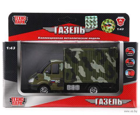 """Модель машины """"Военный фургон"""" (масштаб: 1/43)"""