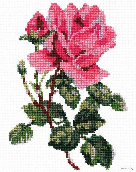 """Вышивка крестом """"Роза"""" (арт. С031)"""